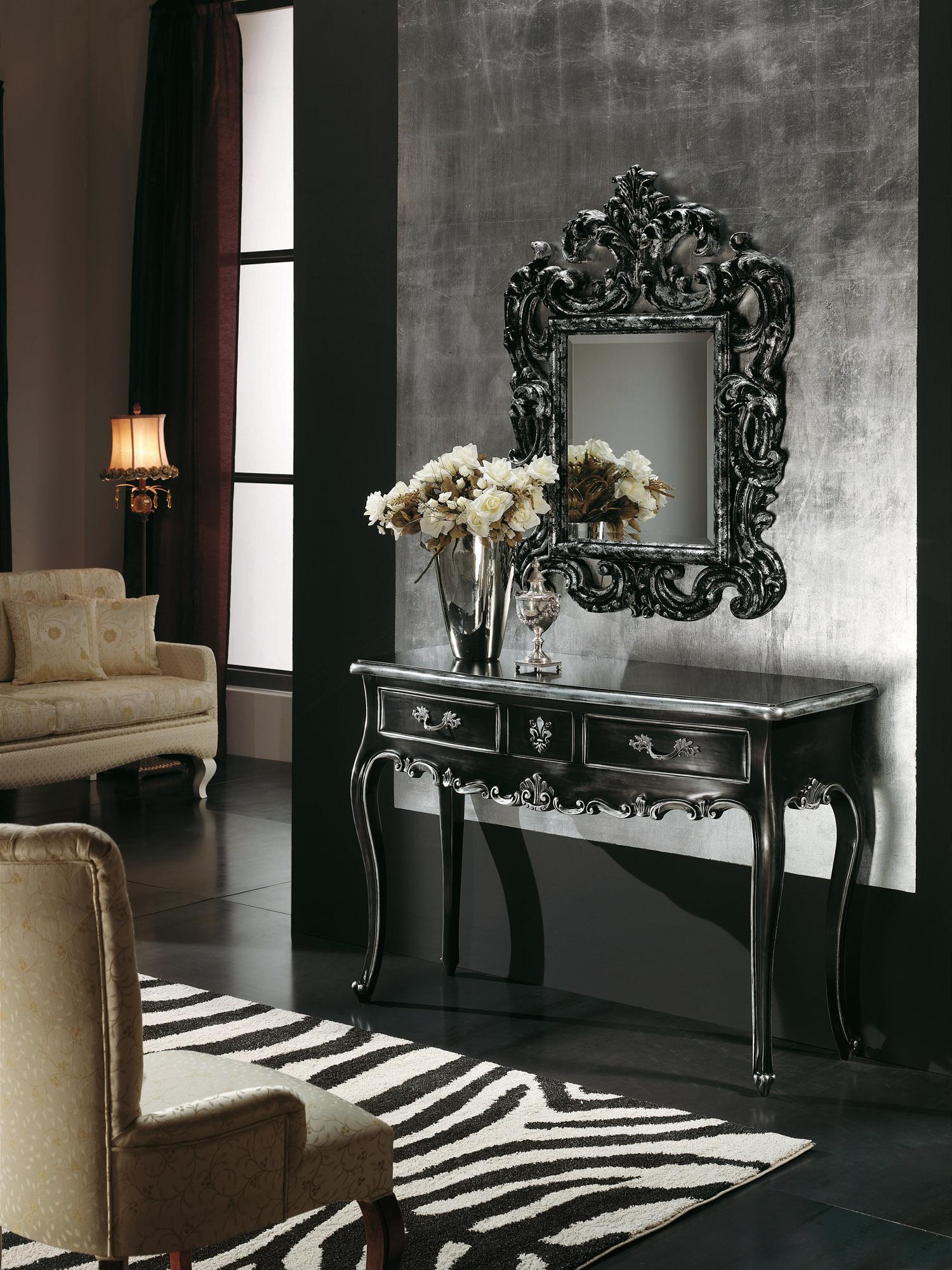 Консоль с тремя ящиками, modenese gastone - мебель мр.